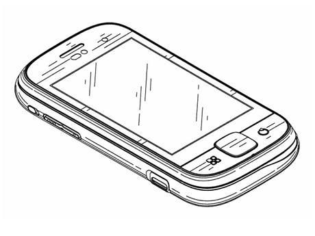 Рисуем сенсорный телефон